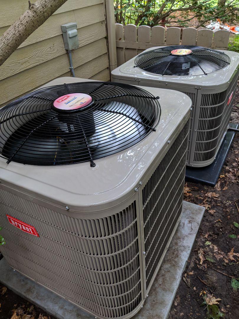 Saline, MI - Double Bryant Air Conditioner Tune-up