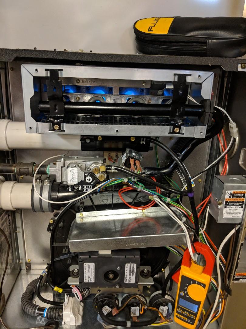 Ypsilanti, MI - Maintenance performed on High Efficiency Bryant Gas Furnace