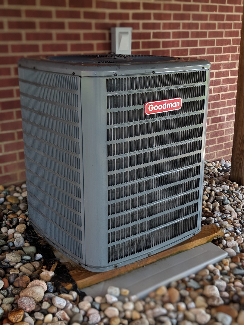 Chelsea, MI - Maintenance on Goodman Air Conditioner and Amana Furnace