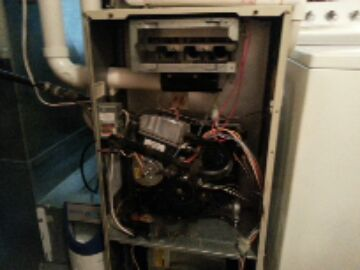 Belleville, MI - gas furnace cleaning