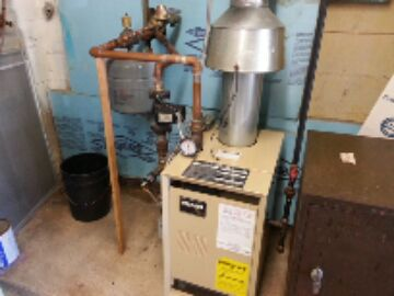 Gregory, MI - cleaning gas boiler