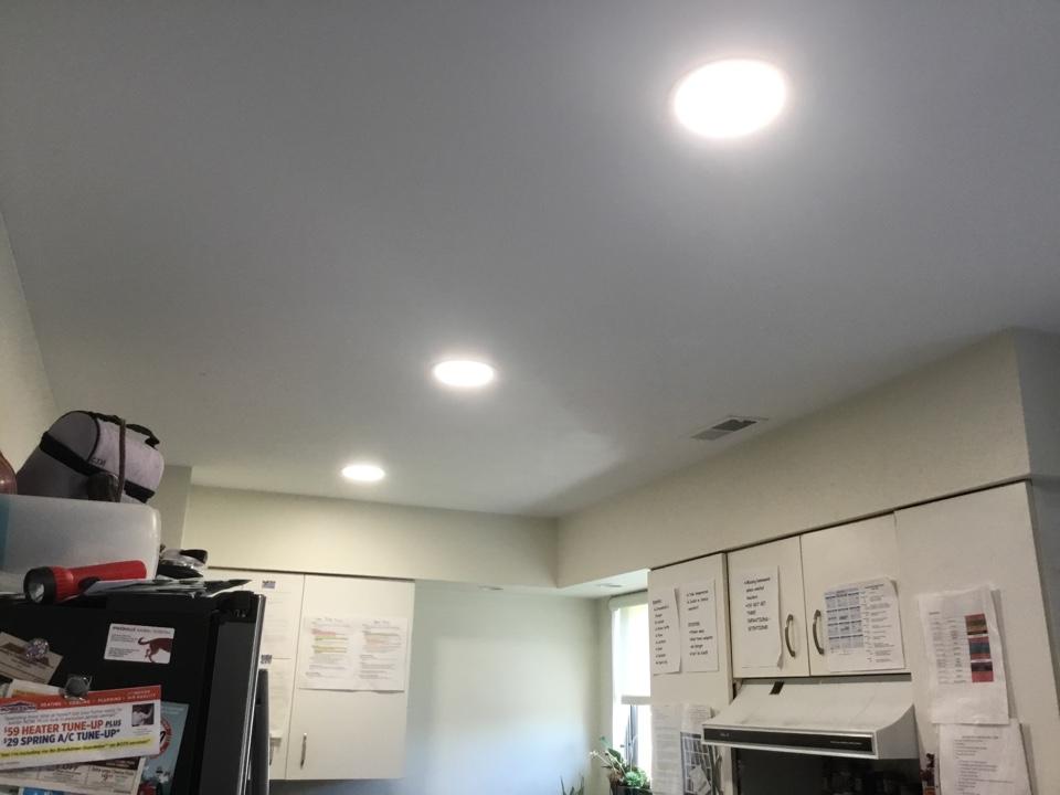 Ellicott City, MD - Installing new recess lights