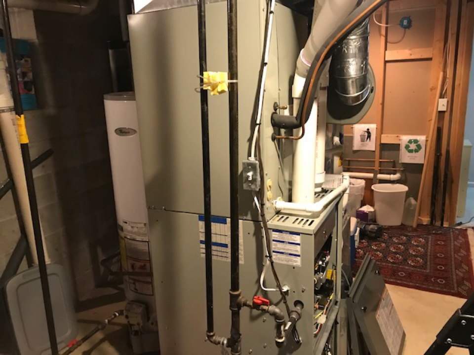 Ellicott City, MD - Installing new circuit for furnace