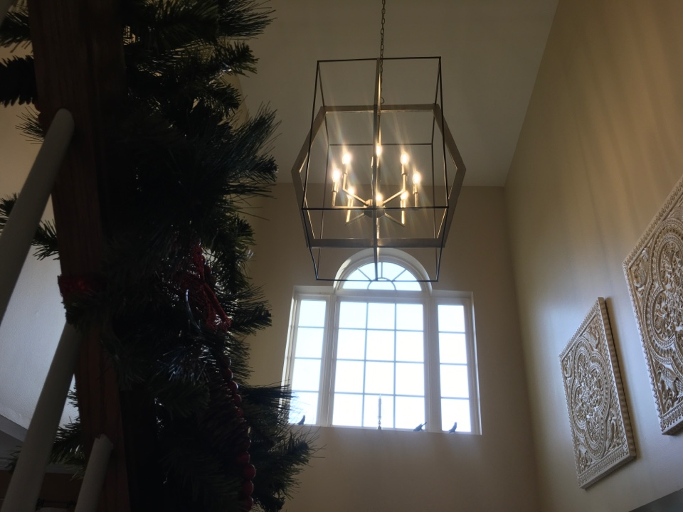 Columbia, MD - Local electrician to install chandelier