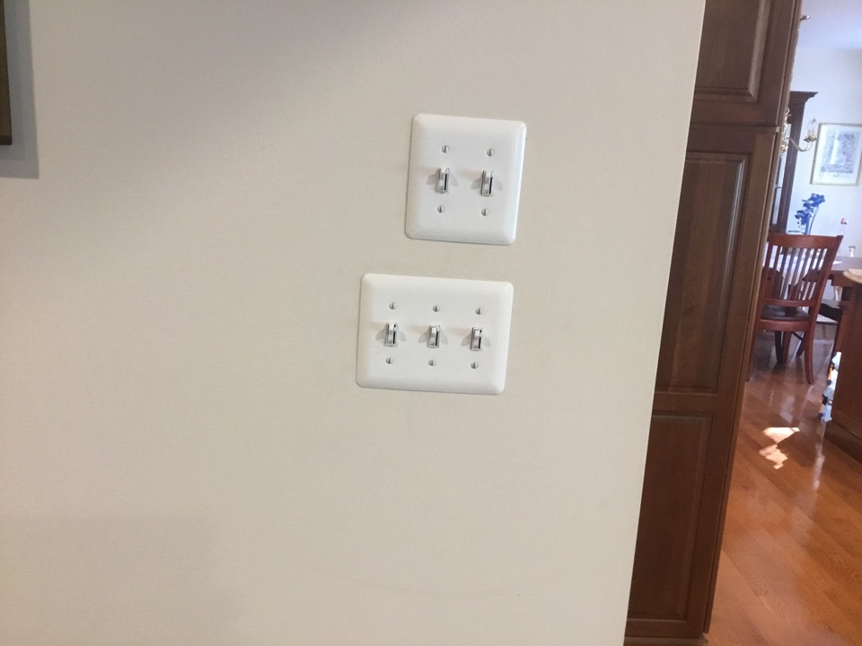 Arnold, MD - Installing new dimmer switches
