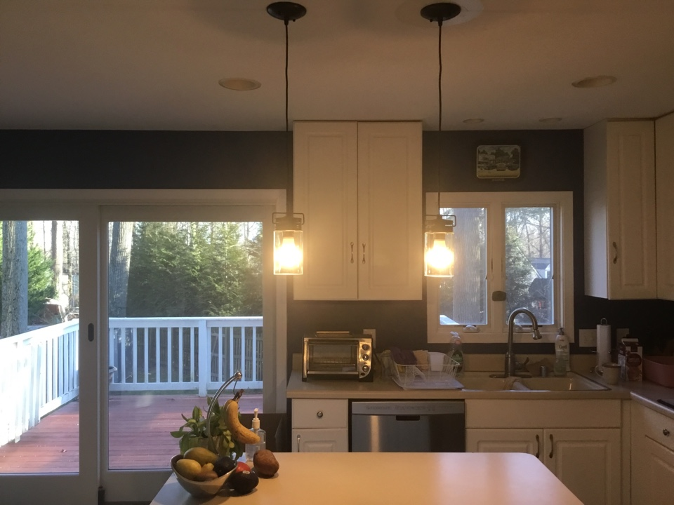 Installing multiple fixtures throughout home