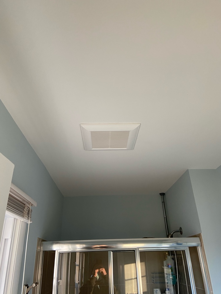 Gambrills, MD - Installed a new bath fan and venting.