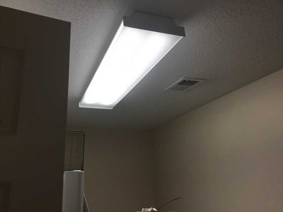Replacing devices and converting lights to Led