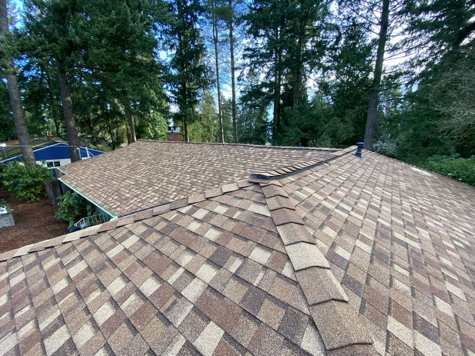 Lake Forest Park, WA - New roof and gutters