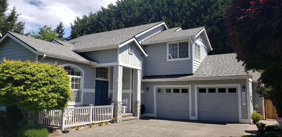 Everett, WA - Another completed roofing project in Everett.