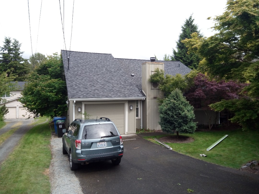 Seattle, WA - Roof and gutters