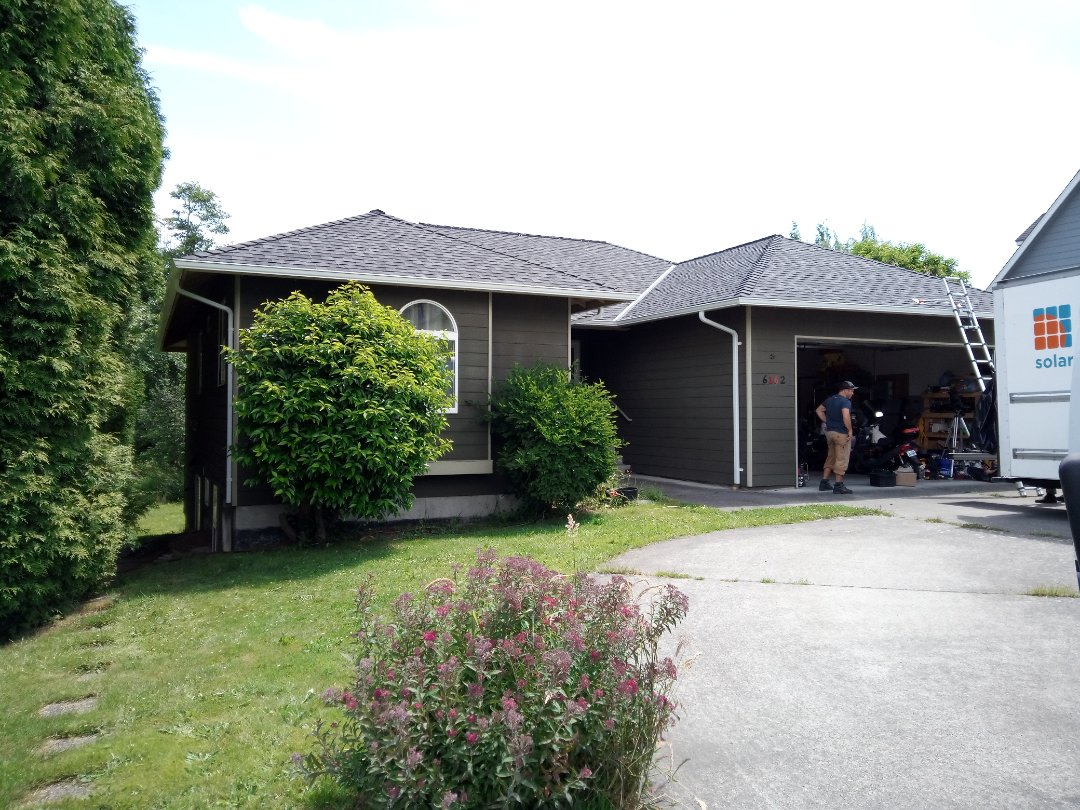 Ferndale, WA - Roof and gutters