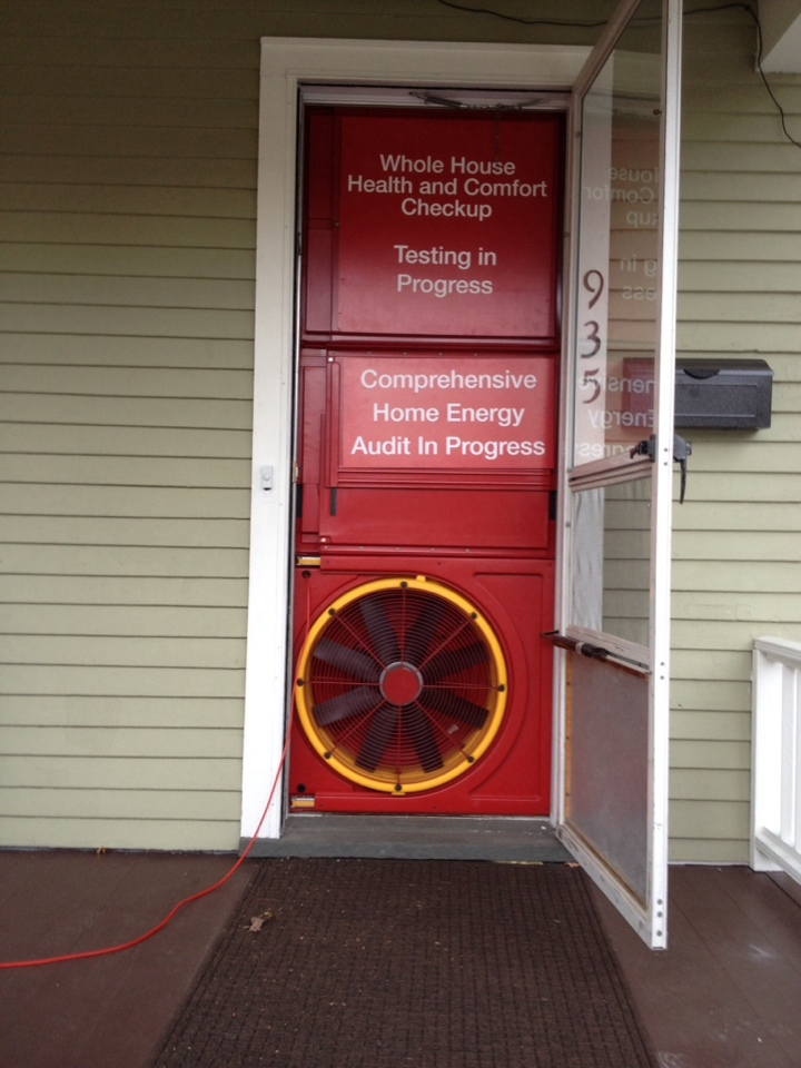 Richland, MI - Doing an energy audit