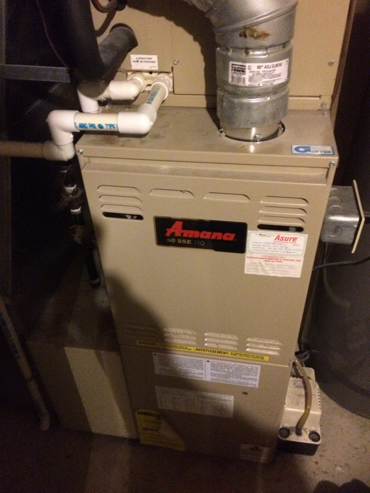 Mattawan, MI - Amanda annual furnace maintenance