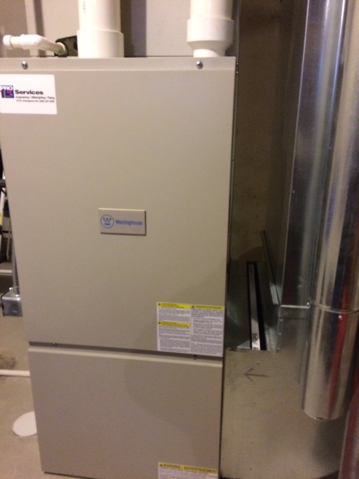 Texas charter Township, MI - Westinghouse annual furnace maintenance