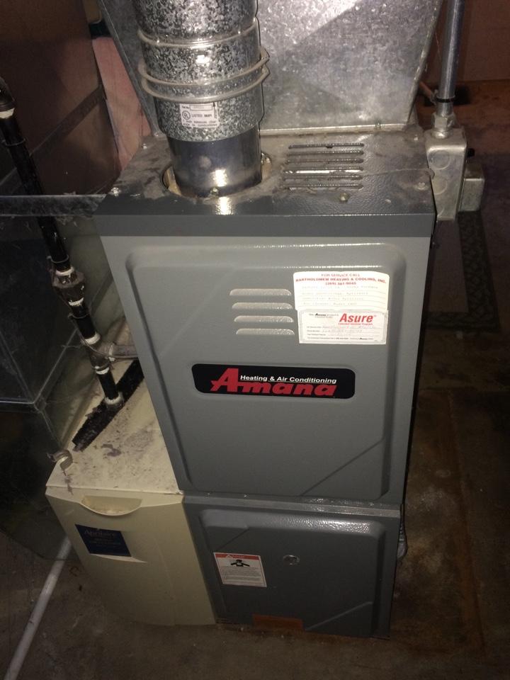 Vicksburg, MI - Amana furnace repair