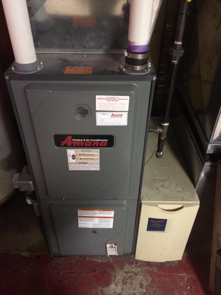 Amana annual furnace maintenance