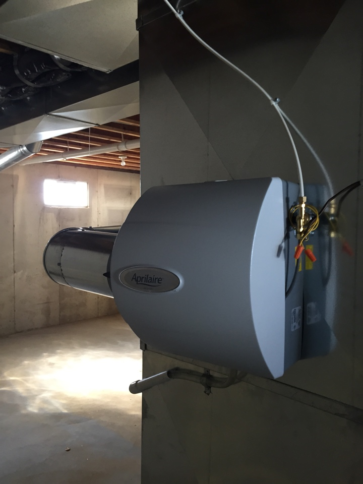 Lawton, MI - Install new humidifier