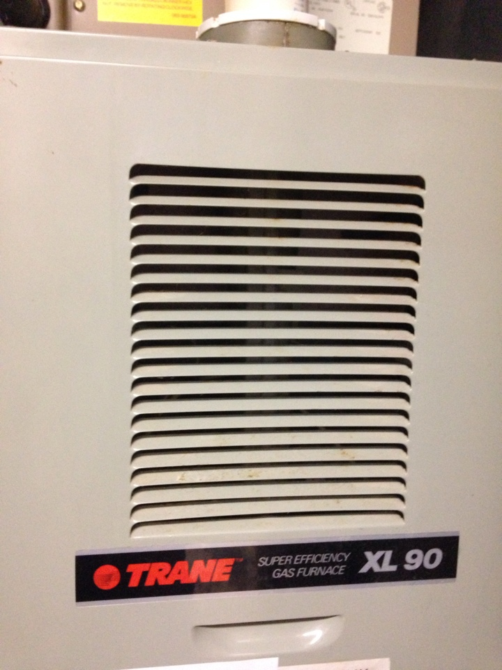 Oshtemo, MI - Furnace repair, ran combustion test and cleaned flame sensor on Trane gas furnace