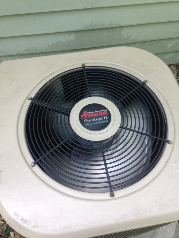 Portage, MI - A/C tune up, perform annual service and replaced contractor on Amana air conditioner