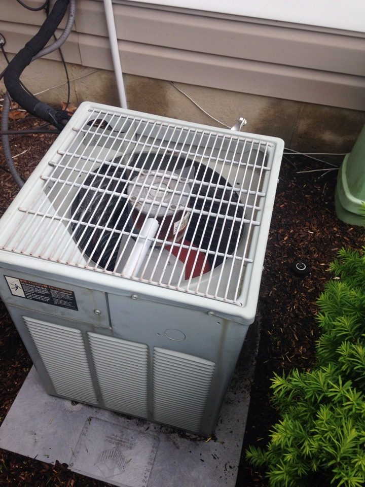 Portage, MI - Furnace and A/C maintenance , perform annual maintenance, cleaned burners and flame sensor, checked ignitor Ohms, cleaned condenser coils and checked refrigerant levels