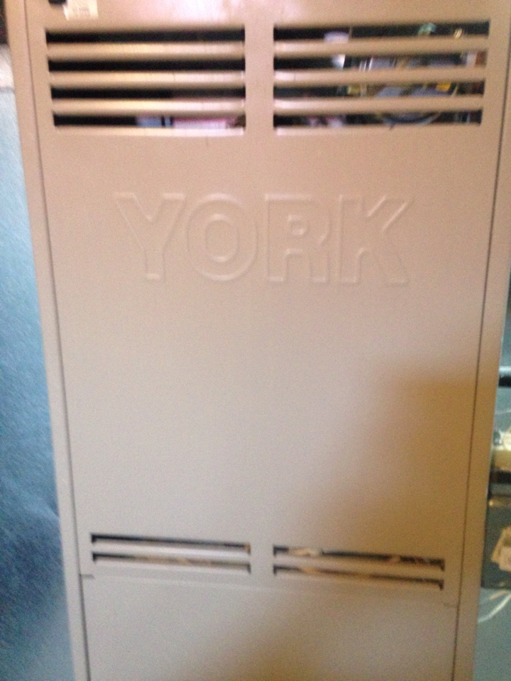 Schoolcraft, MI - Furnace and a/c tune up, perform annual service on York gas furnace and air conditioner