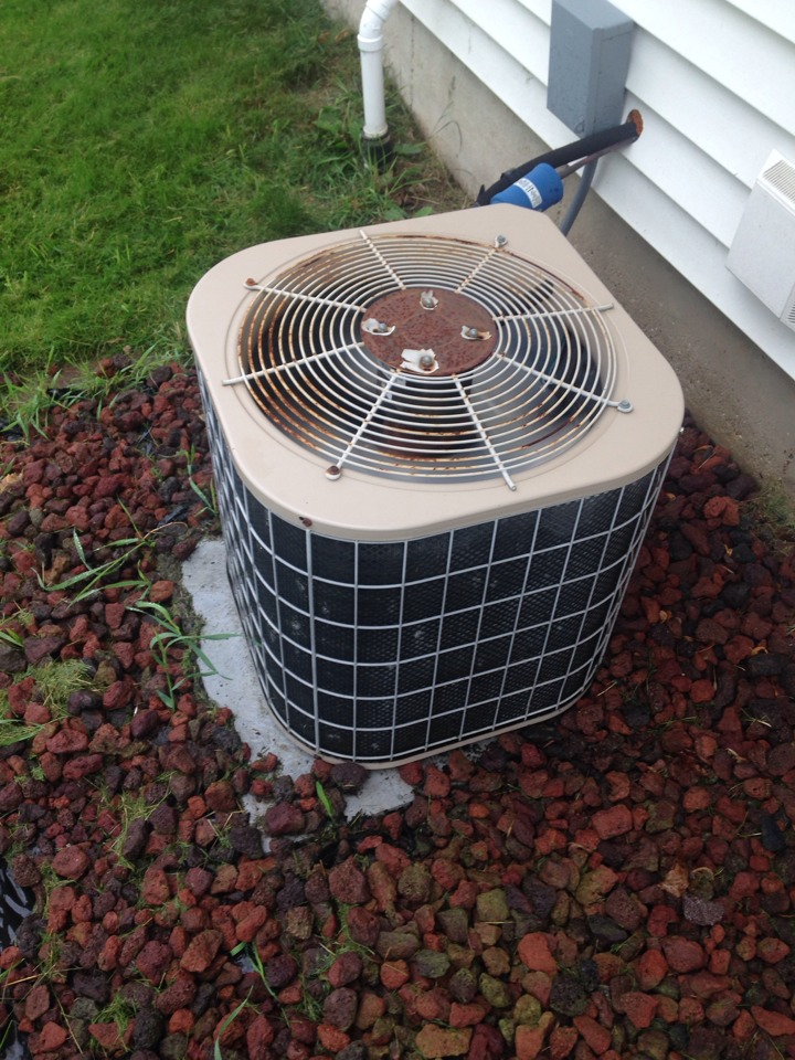 Schoolcraft, MI - A/C tune up, perform annual service on Luxaire air conditioner