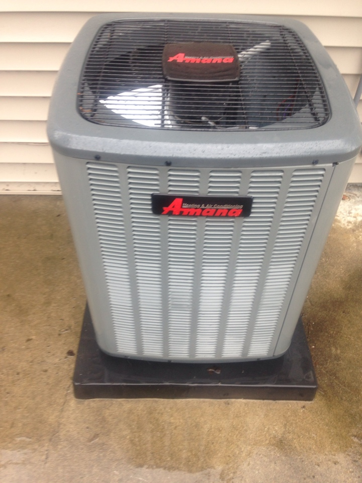 Delton, MI - A/C tune up, perform annual service on Amana air conditioner