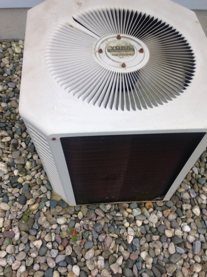 Portage, MI - A/c repair, repaired wires in York air conditioner that were bad on contactor