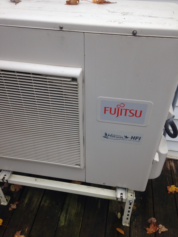 Marcellus, MI - Heat pump repair, repaired wiring on Fijitsu mini split heat pump