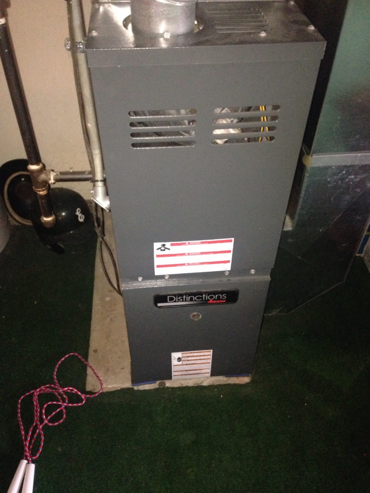 Kalamazoo, MI - Furnace tune up, perform maintenance service on Amana gas furnace