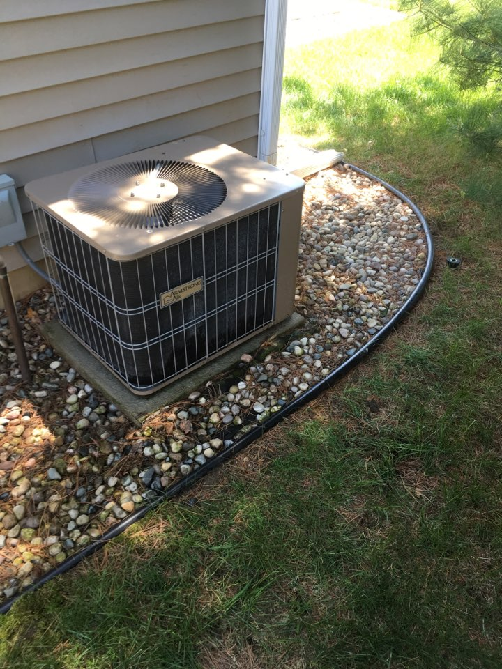 Portage, MI - Annual check up on A/C unit, Performed maintenance service on air conditioner