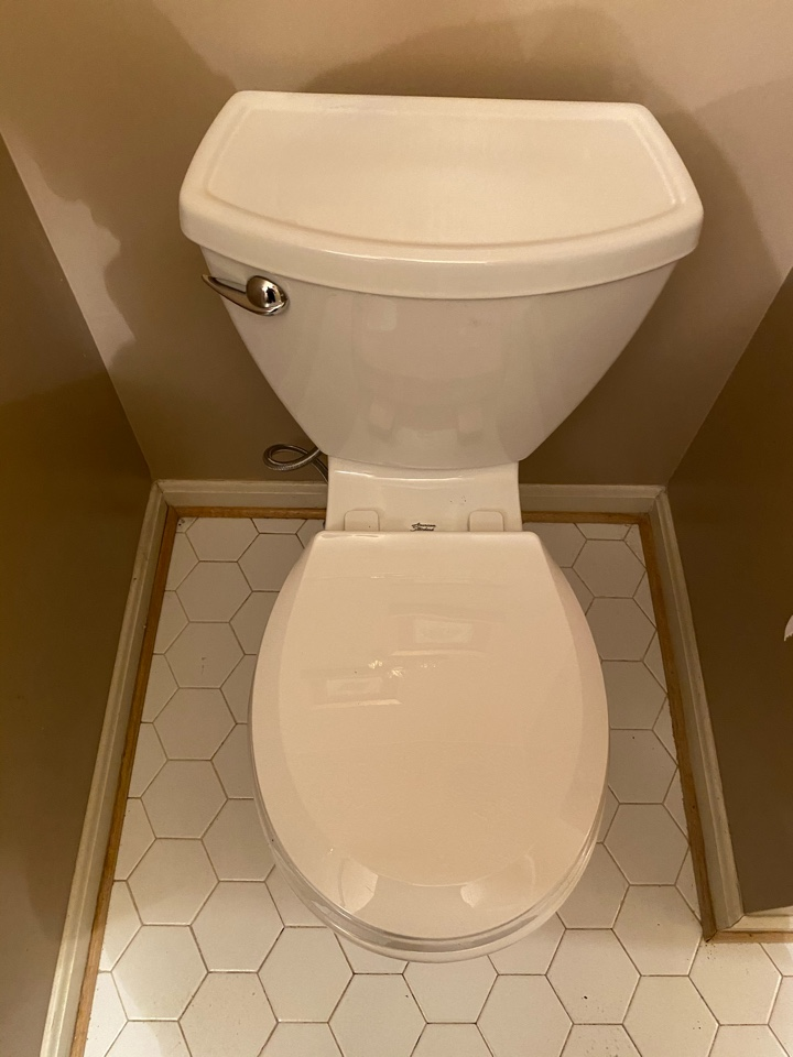 Installed new toilet in Bryans Road, MD