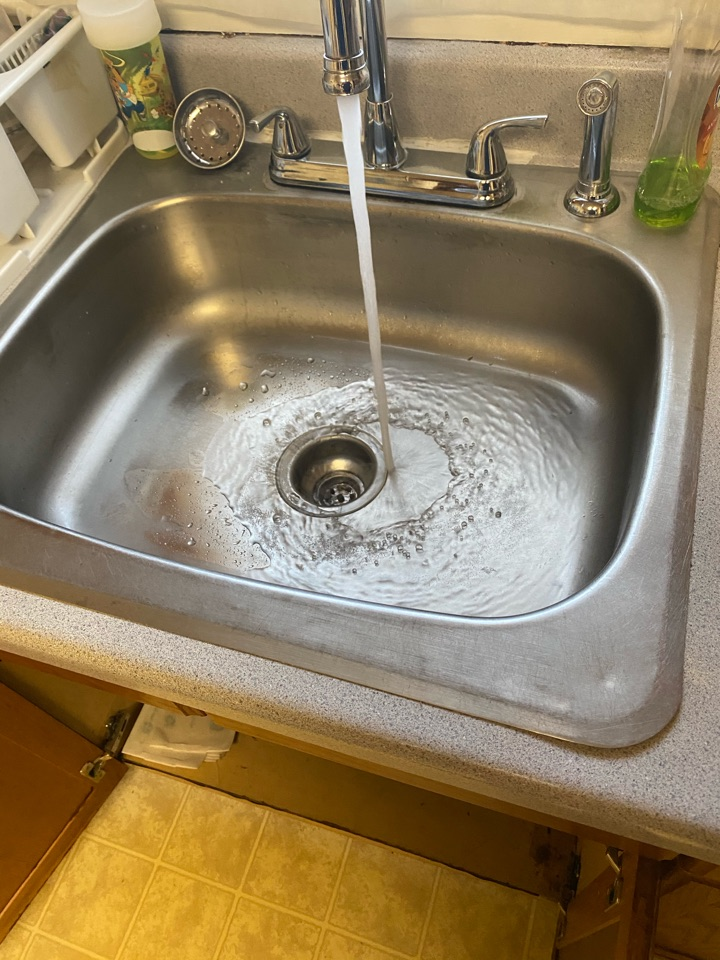Snaked kitchen and re-piped drain in Indian Head, MD