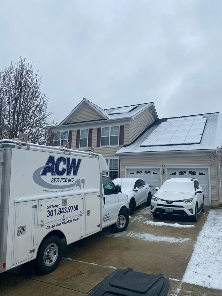 Removed debri from garbage disposal in Waldorf, MD