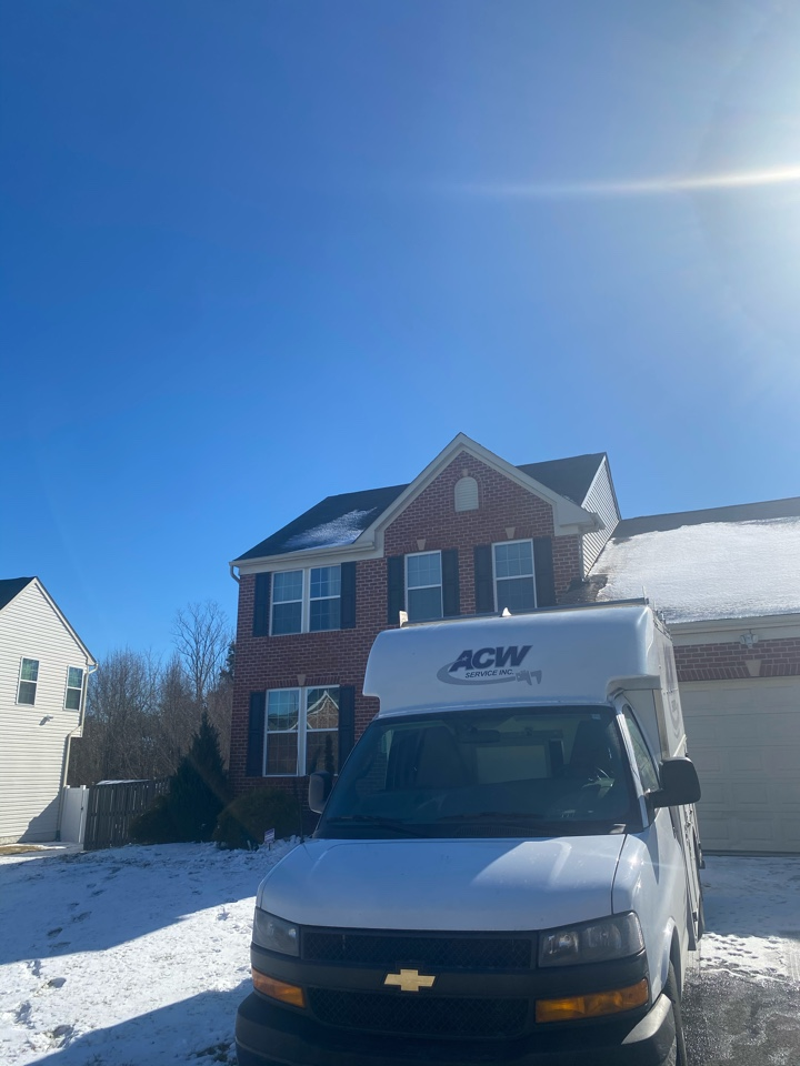 Clinton, MD - Installed new water heater in Clinton, MD