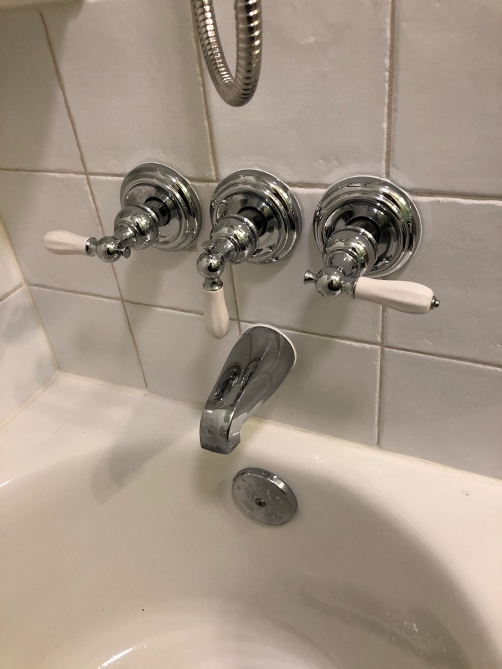 Silver Spring, MD - Replace cartridges in tub Faucet