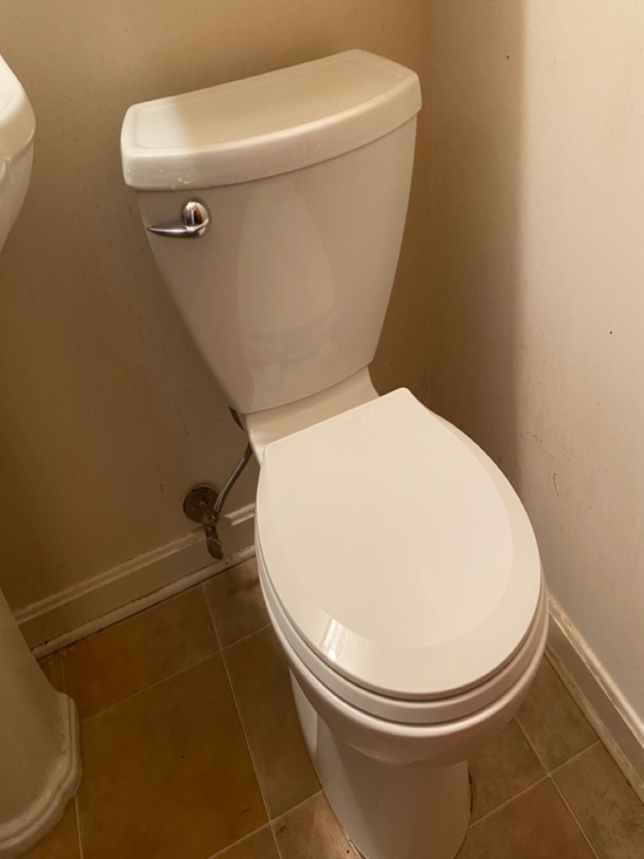 Installed new toilet in White Plains, MD