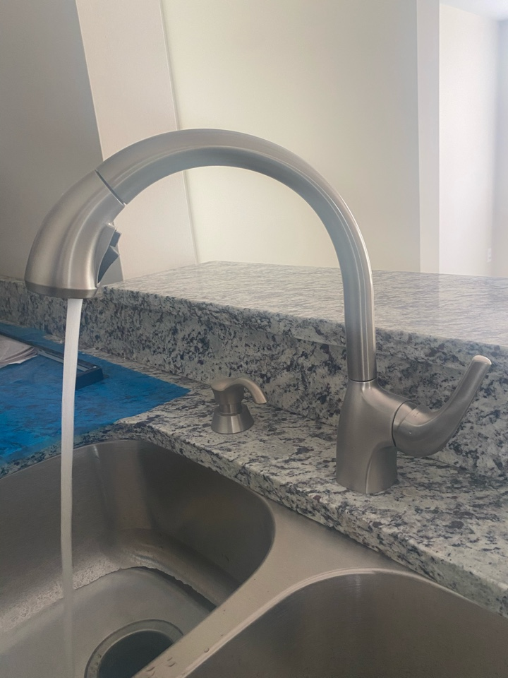 Bowie, MD - Kitchen faucet install in Bowie, MD
