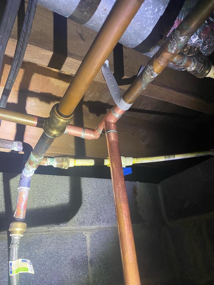 Emergency pipe leak repair in White Plains, MD