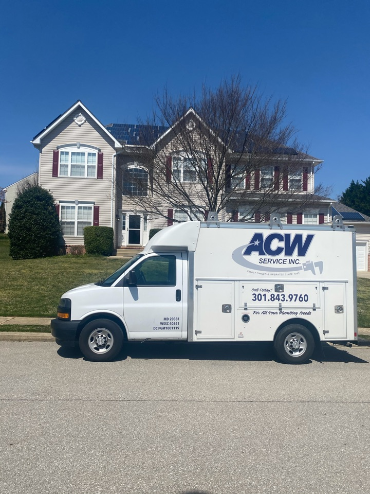 Kitchen drain line replacement in Waldorf, MD
