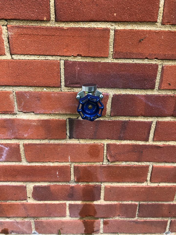 Installed two new hose bibs with shut off valves in Waldorf Maryland