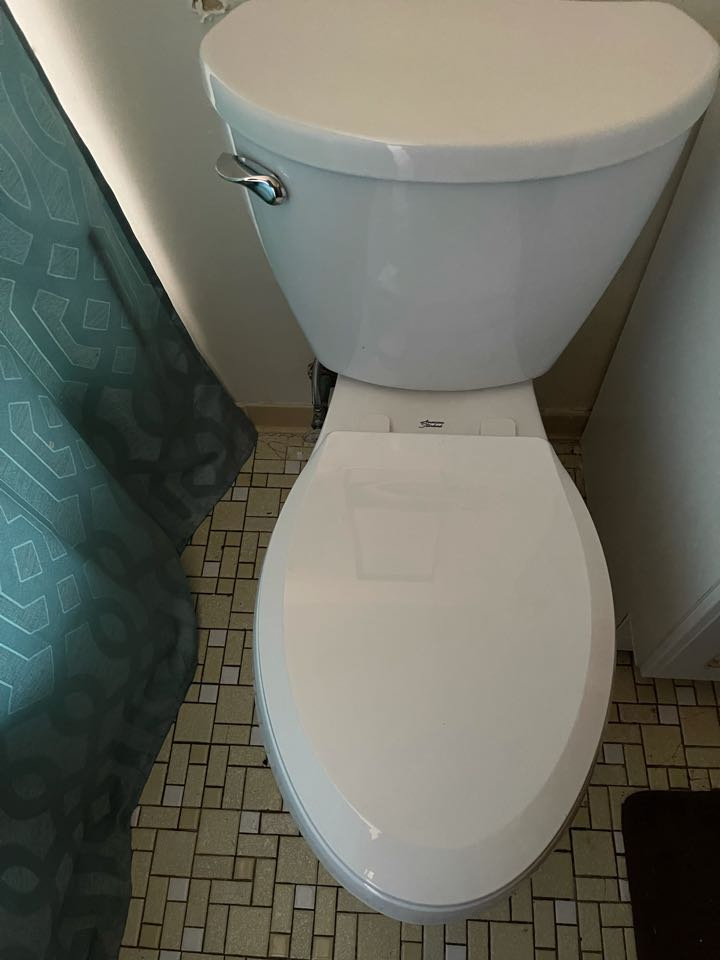 Installed new flange and toilet in LaPlata, MD