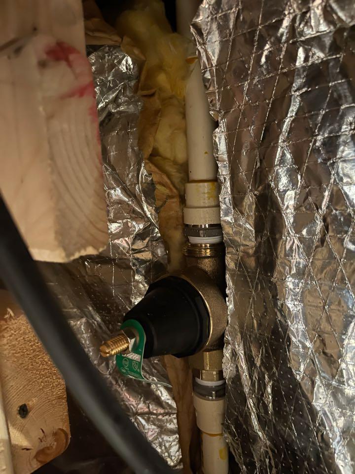 Waldorf, MD - Installed new pressure regulating valve in Waldorf, MD