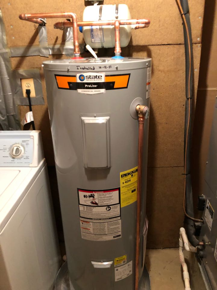 Waldorf, MD - Installed a new water heater