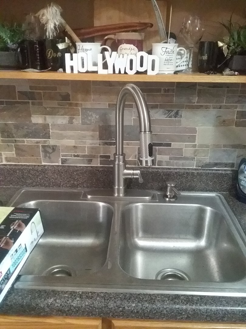 Bessemer, AL - Plumbing and gas. Installed new faucet