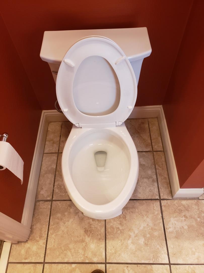 Chelsea, AL - Plumbing. Toilet install