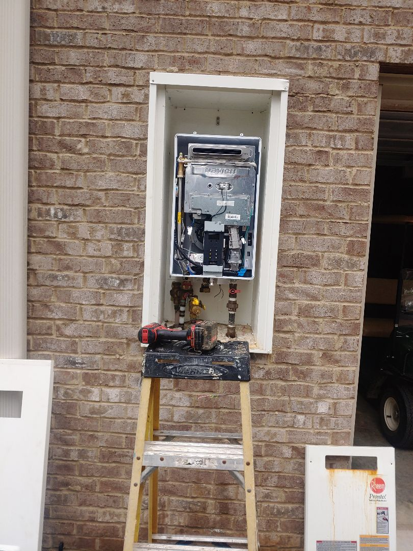 Chelsea, AL - Install new tankless water heater
