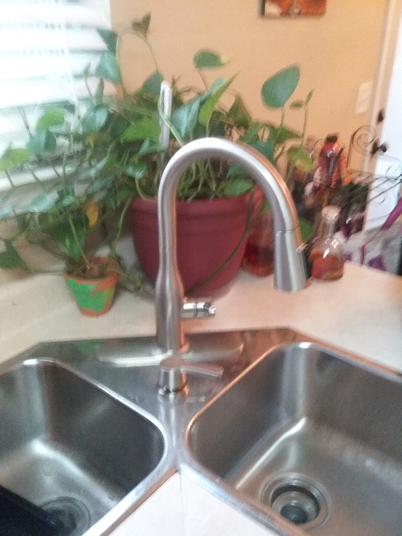 Bessemer, AL - Plumbing and gas. Installed new kitchen faucet