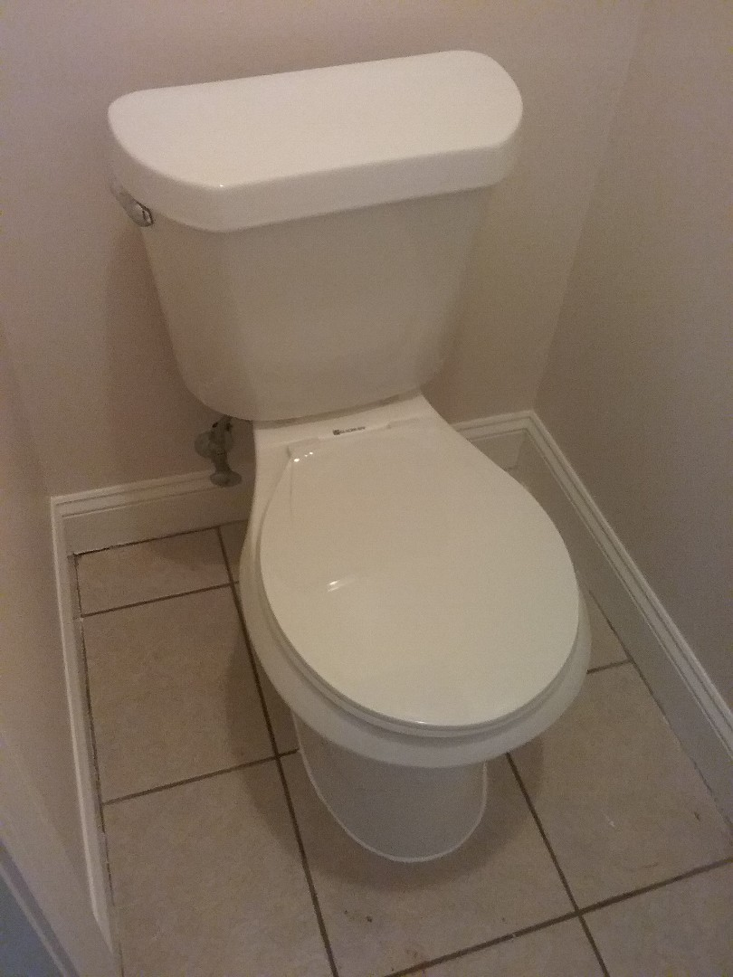 Chelsea, AL - Plumbing and gas. Installed new toilet